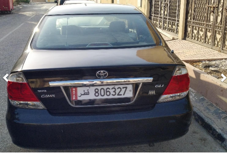 Used Toyota Camry For Sale in Doha-Qatar #5199 - 1  image
