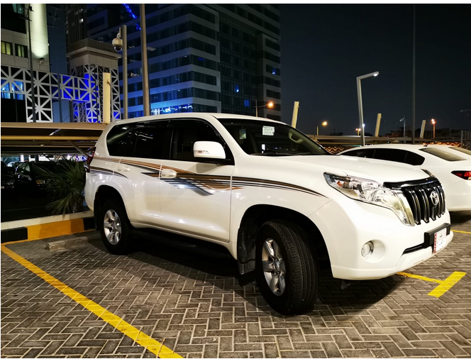 Used Toyota Prado For Sale in Doha-Qatar #5219 - 1  image