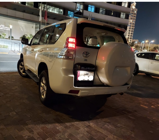 Used Toyota Prado For Sale in Doha-Qatar #5286 - 1  image