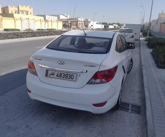 Used Hyundai Accent For Sale in Doha-Qatar #5307 - 1  image