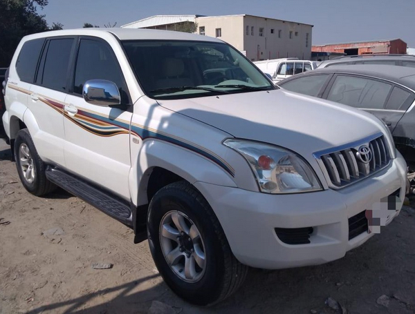 Used Toyota Prado For Sale in Doha-Qatar #5346 - 3  image
