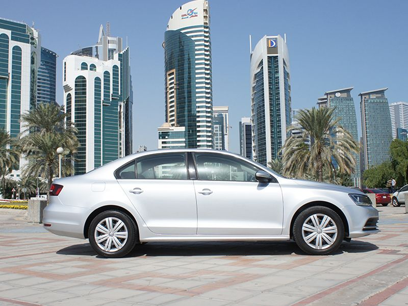 Used Volkswagen Jetta For Rent in Doha-Qatar #6337 - 1  image