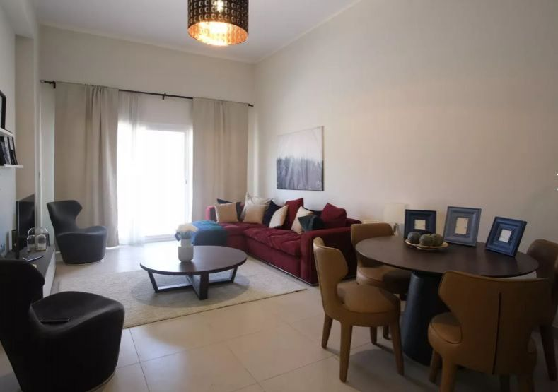 Residential Developed 2 Bedrooms U/F Apartment  for sale in Lusail , Doha-Qatar #10062 - 1  image