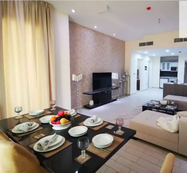 Residential Developed 1 Bedroom F/F Apartment  for sale in Lusail , Doha-Qatar #10081 - 1  image