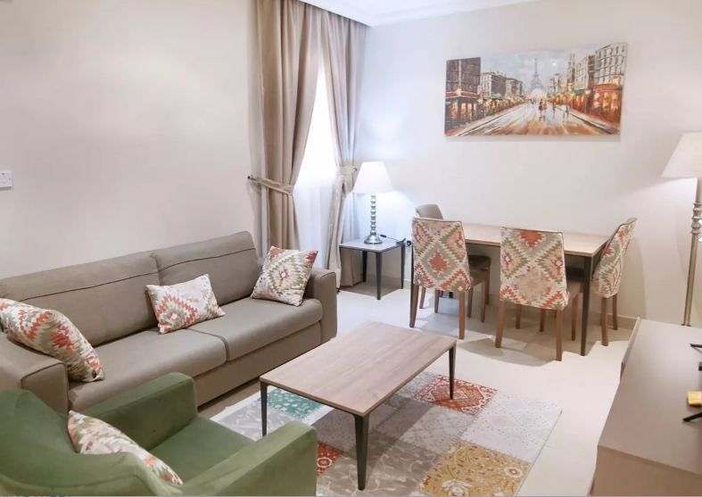 Residential Property 1 Bedroom F/F Apartment  for rent in Doha-Qatar #10196 - 1  image