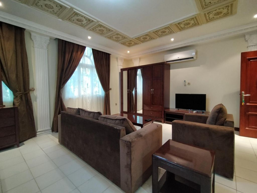 Residential Property Studio F/F Apartment  for rent in Lejbailat , Doha-Qatar #10576 - 1  image