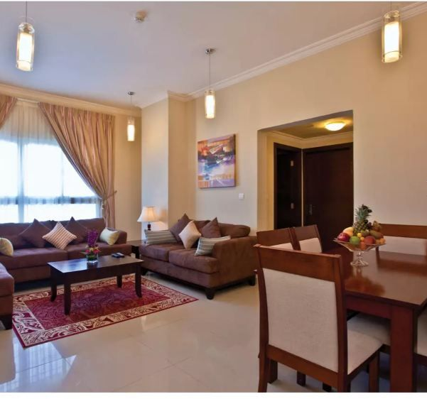 Residential Property 2 Bedrooms F/F Apartment  for rent in Al-Sadd , Doha-Qatar #10645 - 1  image