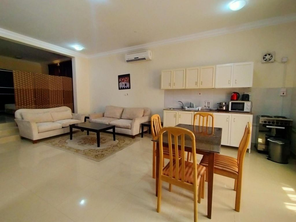 Residential Property Studio F/F Apartment  for rent in Lejbailat , Doha-Qatar #10736 - 1  image