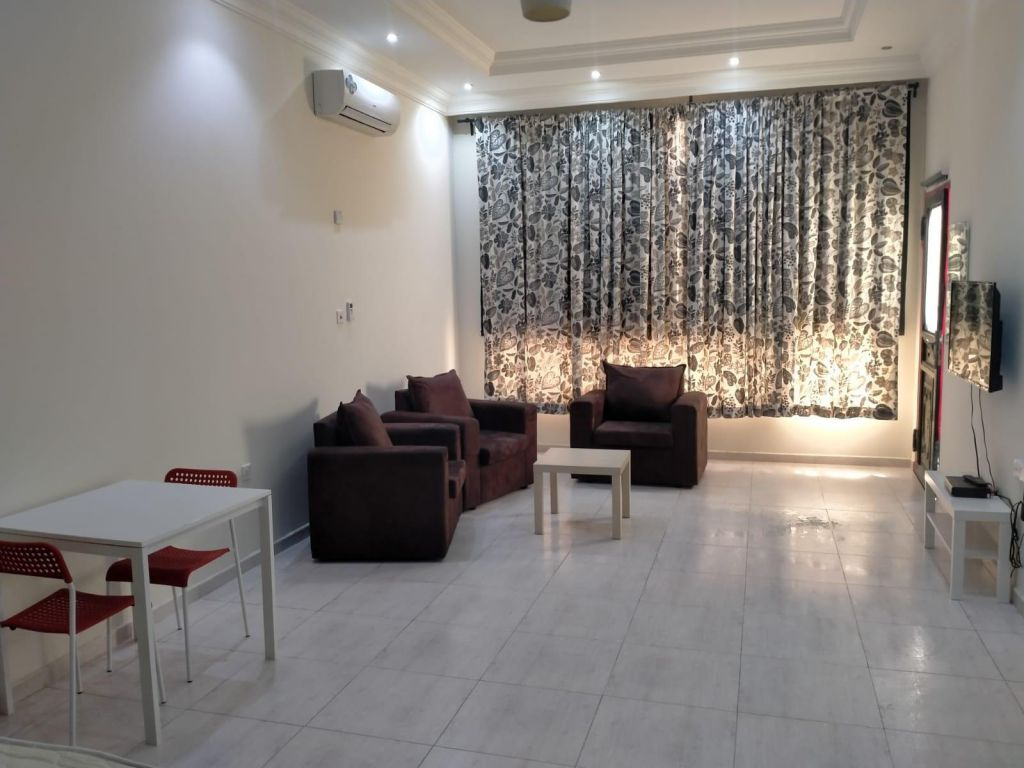 Residential Property Studio F/F Apartment  for rent in Doha-Qatar #10879 - 1  image
