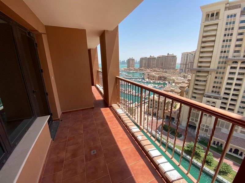 Residential Property 2 Bedrooms S/F Apartment  for rent in The-Pearl-Qatar , Doha-Qatar #11196 - 1  image