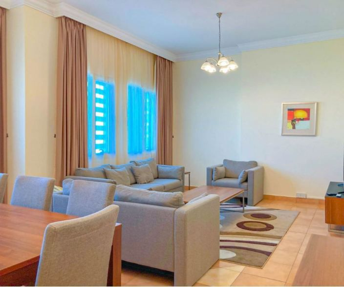 Residential Property 4 Bedrooms F/F Apartment  for rent in West-Bay , Al-Dafna , Doha-Qatar #11230 - 1  image