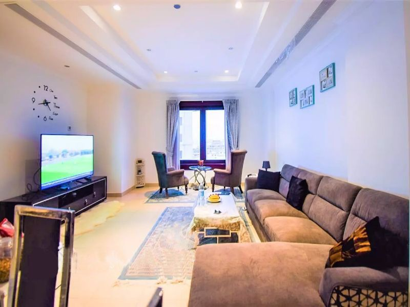 Residential Developed 1 Bedroom F/F Apartment  for sale in The-Pearl-Qatar , Doha-Qatar #11338 - 1  image
