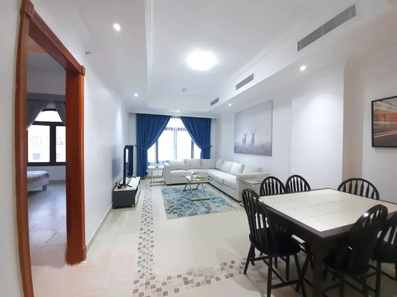 Residential Developed 1 Bedroom F/F Apartment  for sale in The-Pearl-Qatar , Doha-Qatar #11429 - 1  image