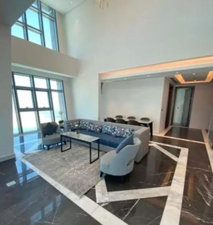Residential Property 5+maid Bedrooms S/F Duplex  for rent in Lusail , Doha-Qatar #11435 - 1  image