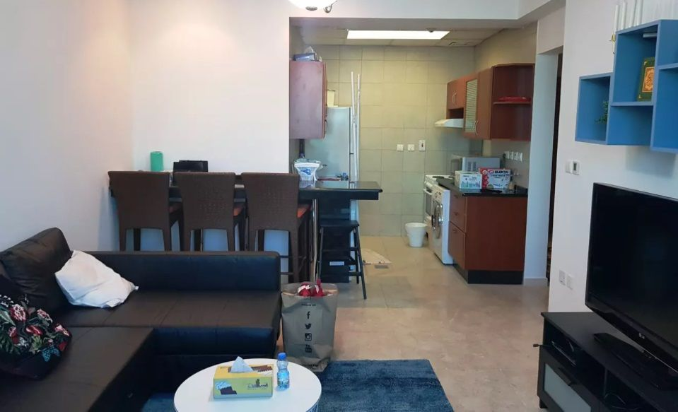 Residential Property 2 Bedrooms F/F Apartment  for rent in Zigzag-Towers , Doha-Qatar #11436 - 2  image