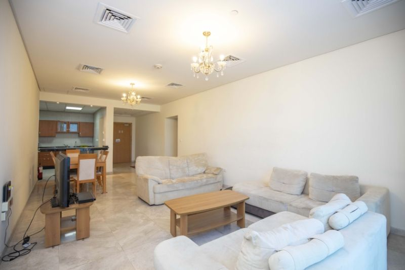 Residential Property 2 Bedrooms F/F Apartment  for rent in Zigzag-Towers , Doha-Qatar #11453 - 1  image