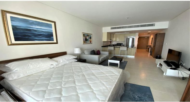 Residential Property Studio F/F Apartment  for rent in The-Pearl-Qatar , Doha-Qatar #11837 - 1  image