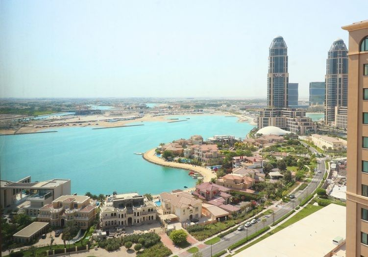 Residential Developed 1 Bedroom S/F Apartment  for sale in The-Pearl-Qatar , Doha-Qatar #14090 - 1  image