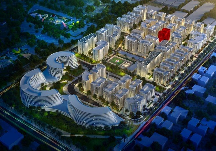 Residential Off Plan 2 Bedrooms S/F Apartment  for sale in Lusail , Doha-Qatar #14159 - 1  image
