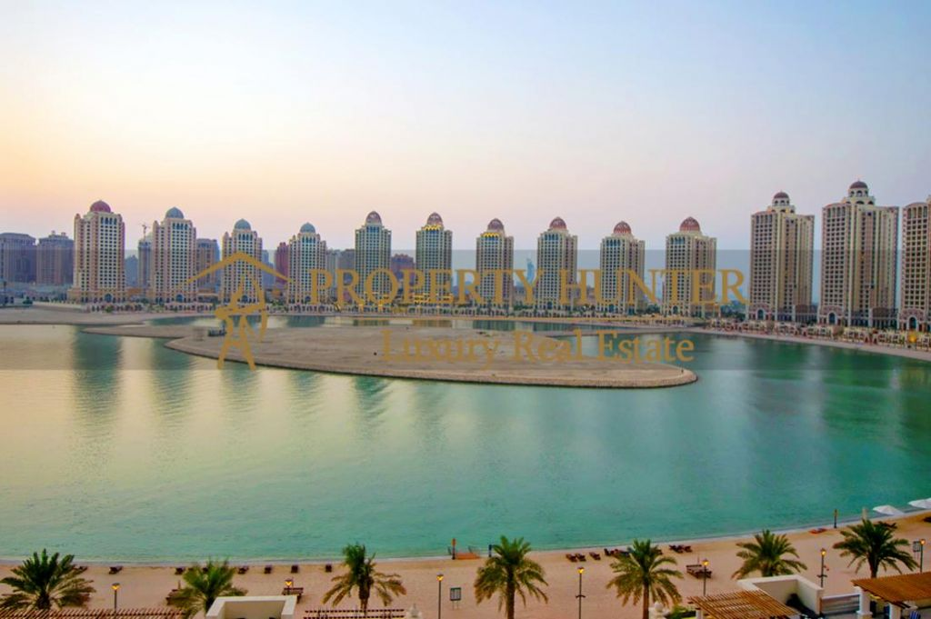 Residential Developed 1 Bedroom S/F Apartment  for sale in The-Pearl-Qatar , Doha-Qatar #6887 - 1  image