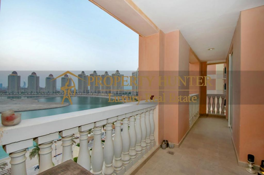 Residential Developed 1 Bedroom S/F Apartment  for sale in The-Pearl-Qatar , Doha-Qatar #6887 - 6  image