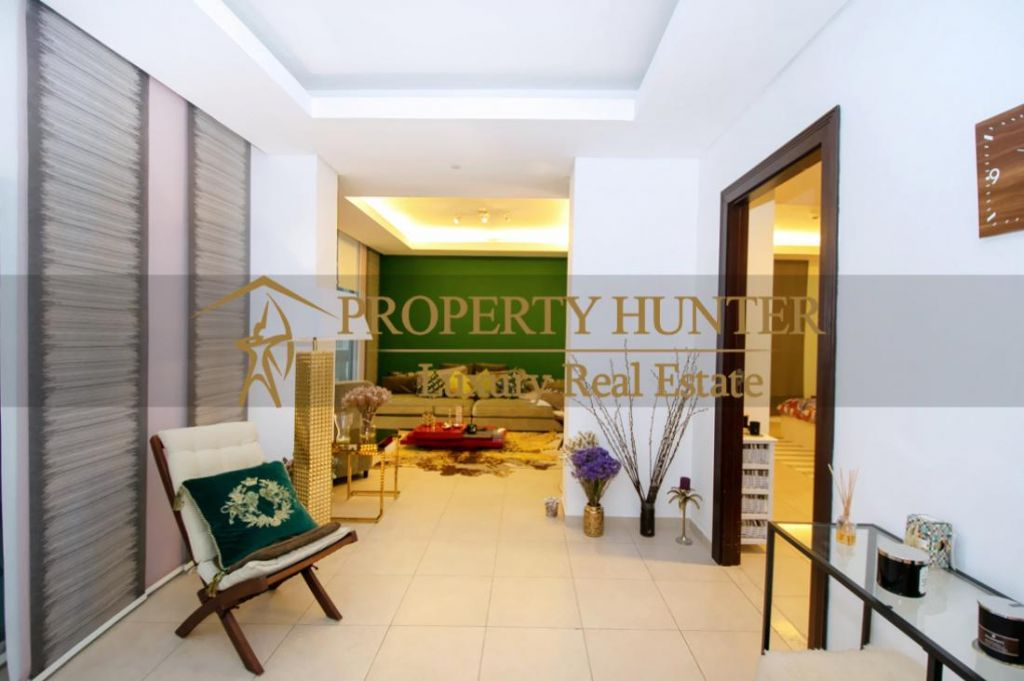 Residential Developed 1 Bedroom S/F Apartment  for sale in The-Pearl-Qatar , Doha-Qatar #6887 - 2  image