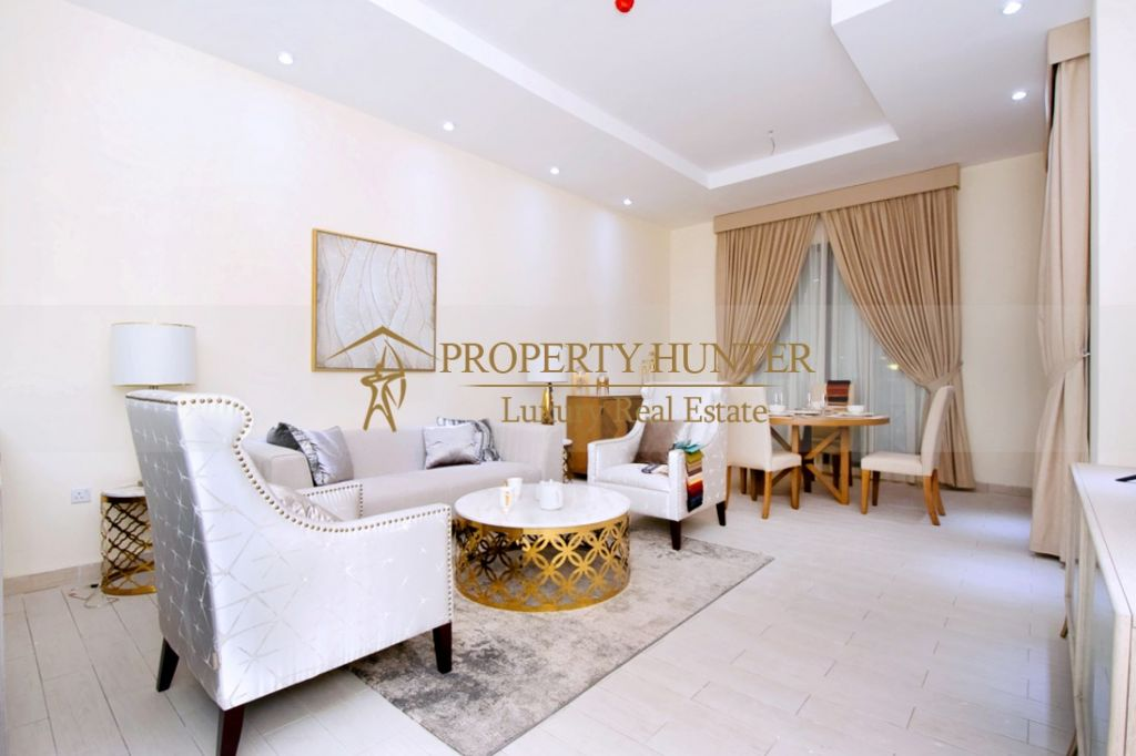 Residential Off Plan 1 Bedroom F/F Apartment  for sale in Lusail , Doha #6889 - 1  image