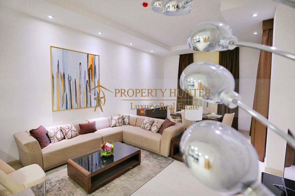 Residential Off Plan 1 Bedroom F/F Apartment  for sale in Lusail , Doha #6891 - 1  image