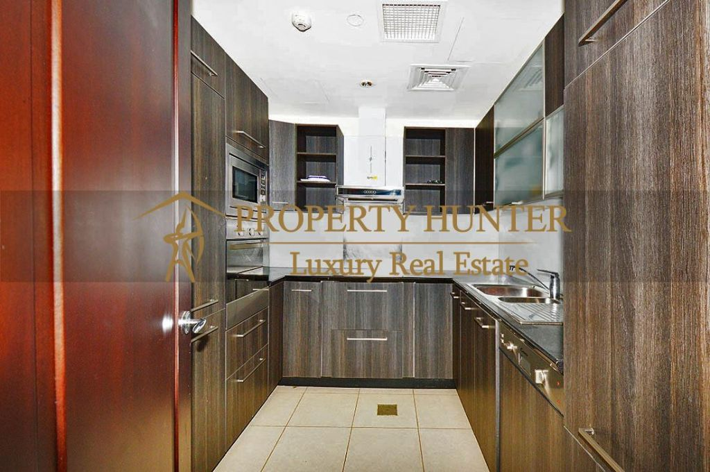 Residential Developed 1 Bedroom S/F Apartment  for sale in The-Pearl-Qatar , Doha-Qatar #6902 - 5  image