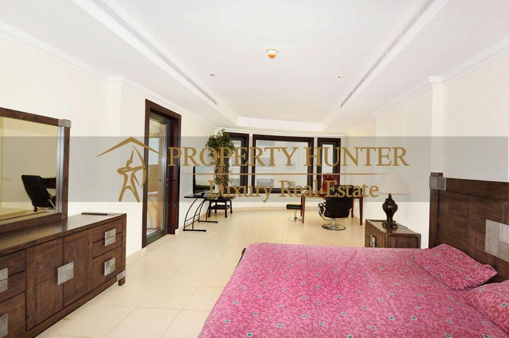 Residential Developed 1 Bedroom S/F Apartment  for sale in The-Pearl-Qatar , Doha-Qatar #6902 - 7  image