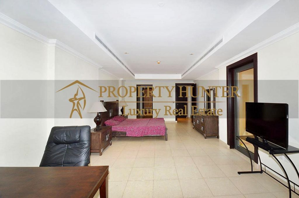 Residential Developed 1 Bedroom S/F Apartment  for sale in The-Pearl-Qatar , Doha-Qatar #6902 - 8  image