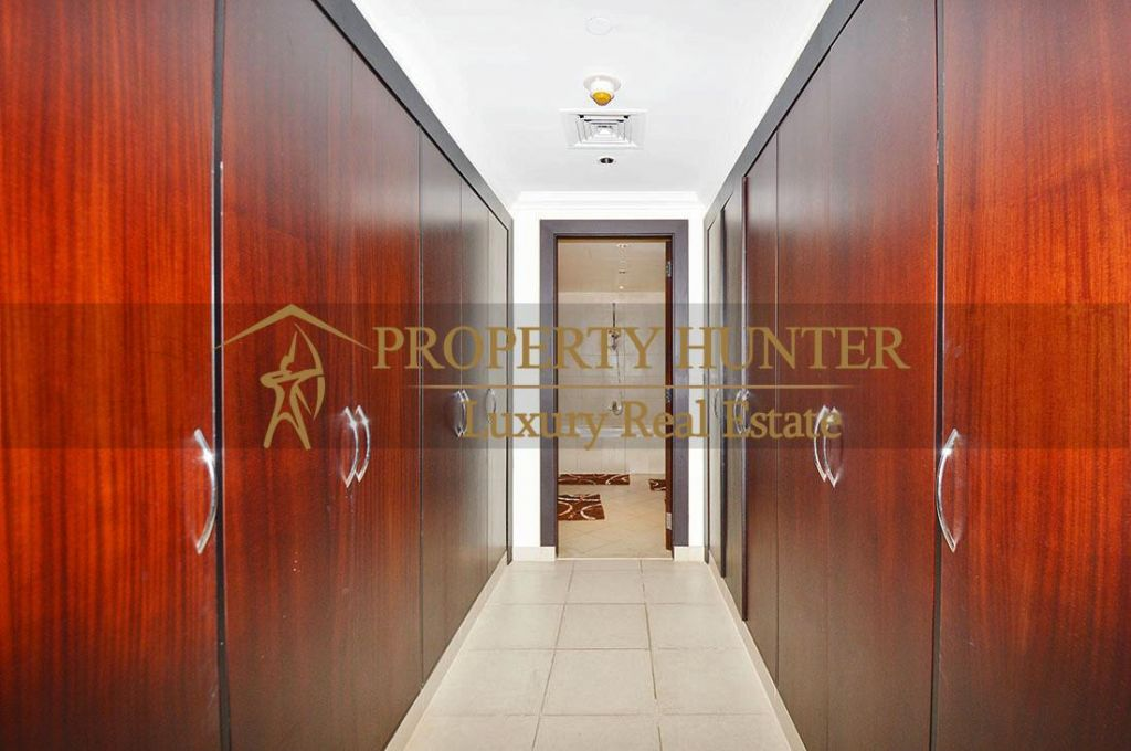 Residential Developed 1 Bedroom S/F Apartment  for sale in The-Pearl-Qatar , Doha-Qatar #6902 - 9  image