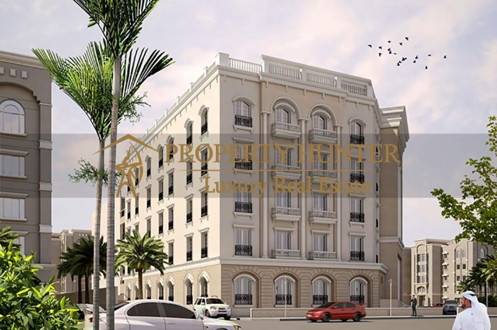 Residential Off Plan 1 Bedroom S/F Apartment  for sale in Lusail , Doha-Qatar #6907 - 1  image