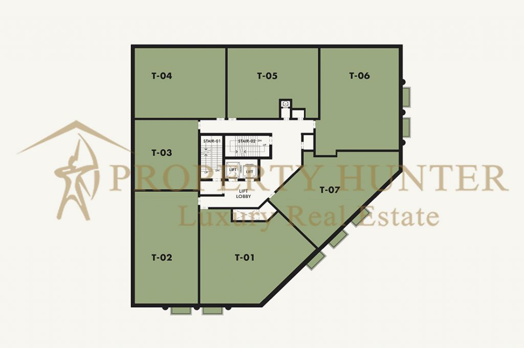 Residential Off Plan 2 Bedrooms S/F Apartment  for sale in Lusail , Doha-Qatar #6909 - 5  image