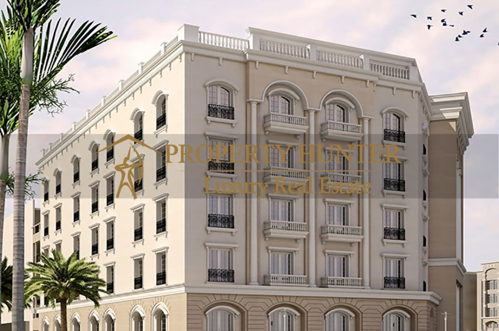 Residential Off Plan 2 Bedrooms S/F Apartment  for sale in Lusail , Doha-Qatar #6909 - 1  image