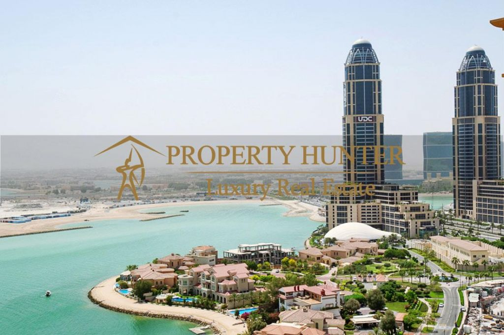 Residential Developed 1 Bedroom U/F Apartment  for sale in The-Pearl-Qatar , Doha-Qatar #6925 - 1  image