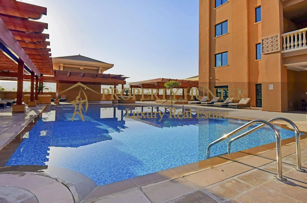 Residential Developed 1 Bedroom U/F Apartment  for sale in The-Pearl-Qatar , Doha-Qatar #6925 - 9  image