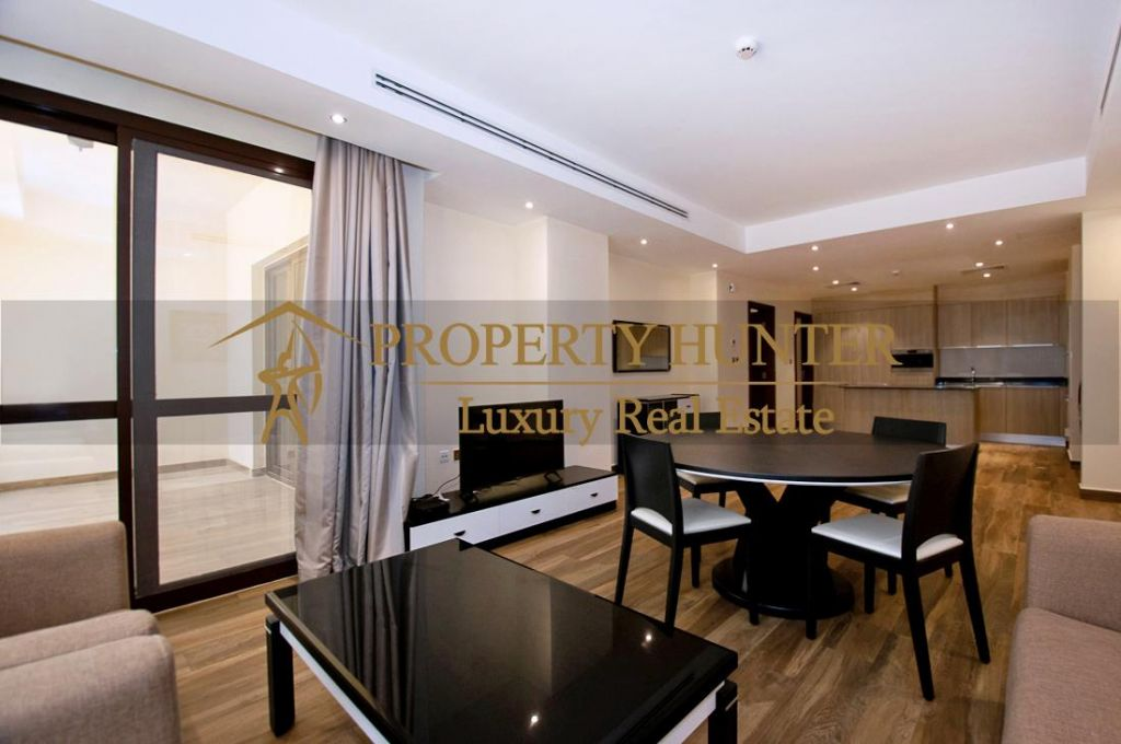 Residential Developed 1 Bedroom F/F Apartment  for sale in Lusail , Doha-Qatar #6934 - 3  image