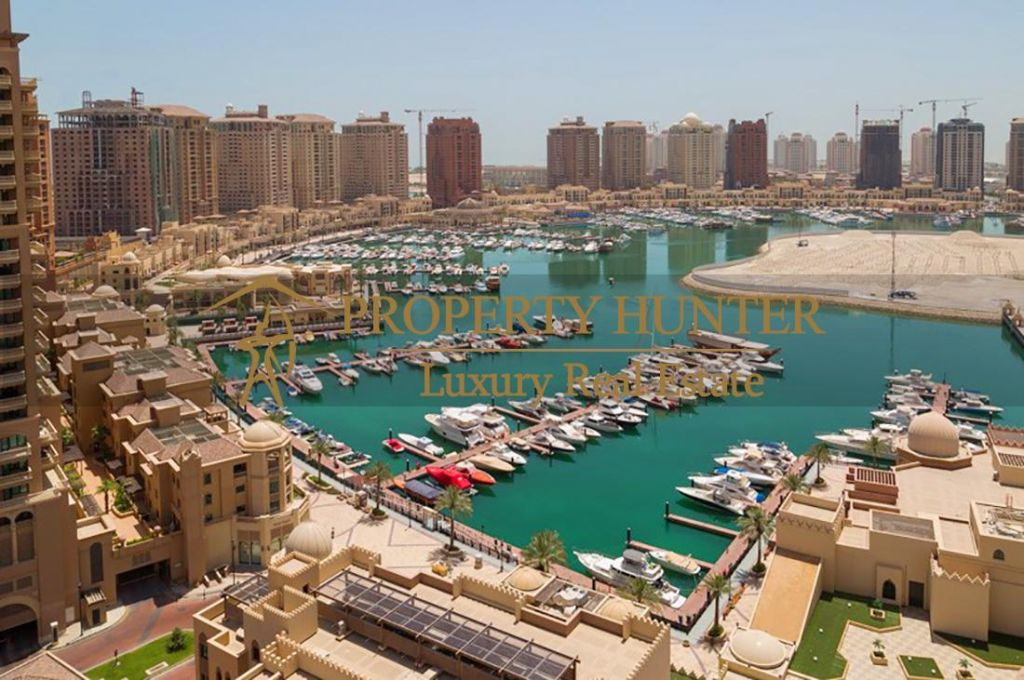 Residential Developed 4+maid Bedrooms S/F Apartment  for sale in The-Pearl-Qatar , Doha-Qatar #6960 - 1  image
