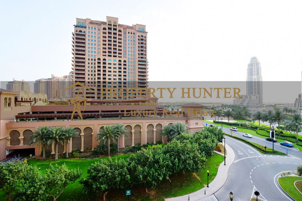 Residential Developed 1 Bedroom S/F Apartment  for sale in The-Pearl-Qatar , Doha #6963 - 2  image