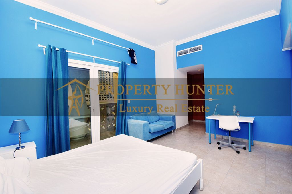 Residential Developed 1 Bedroom S/F Apartment  for sale in The-Pearl-Qatar , Doha #6963 - 8  image