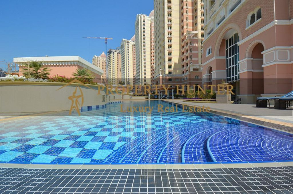 Residential Developed 1 Bedroom S/F Apartment  for sale in The-Pearl-Qatar , Doha-Qatar #6971 - 1  image