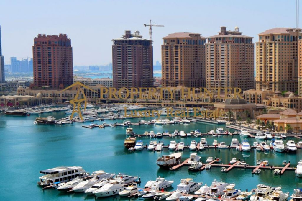 Residential Developed 1 Bedroom S/F Apartment  for sale in The-Pearl-Qatar , Doha #6988 - 1  image