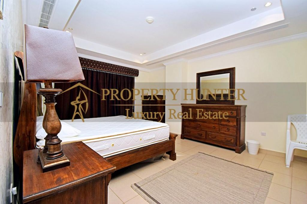 Residential Developed 1 Bedroom S/F Apartment  for sale in The-Pearl-Qatar , Doha #6988 - 7  image