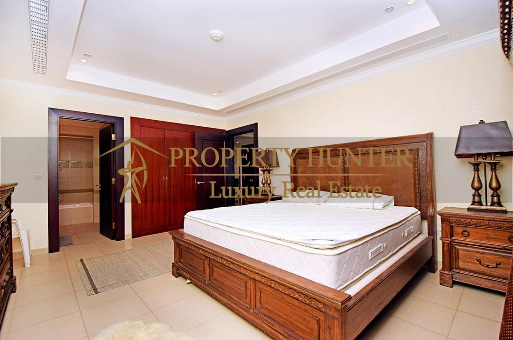 Residential Developed 1 Bedroom S/F Apartment  for sale in The-Pearl-Qatar , Doha #6988 - 8  image