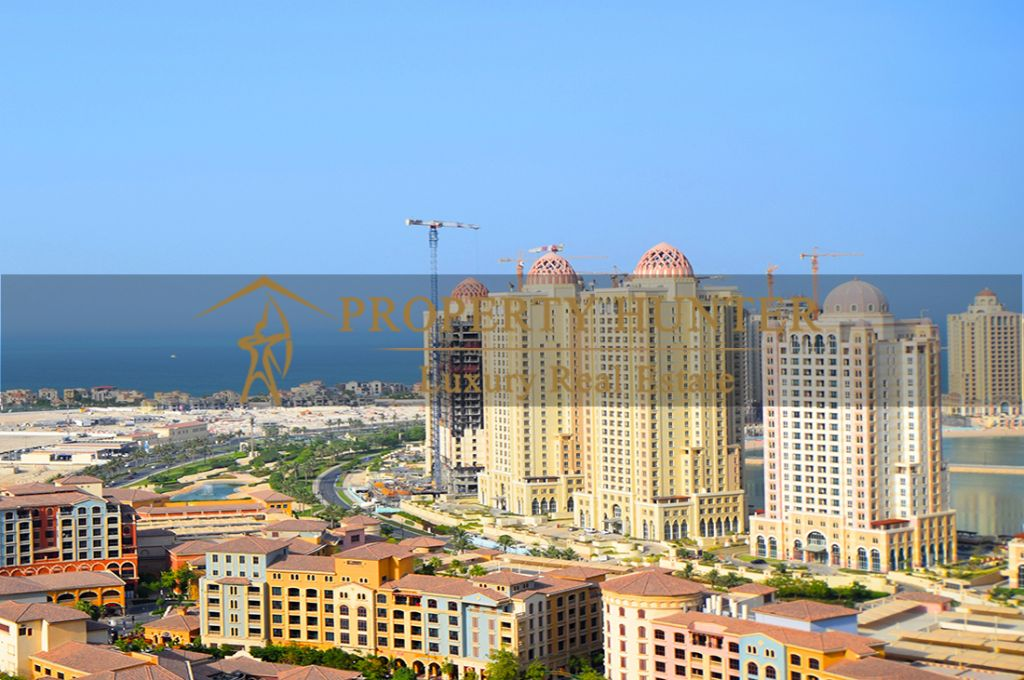 Residential Developed 1 Bedroom S/F Apartment  for sale in The-Pearl-Qatar , Doha #6988 - 2  image
