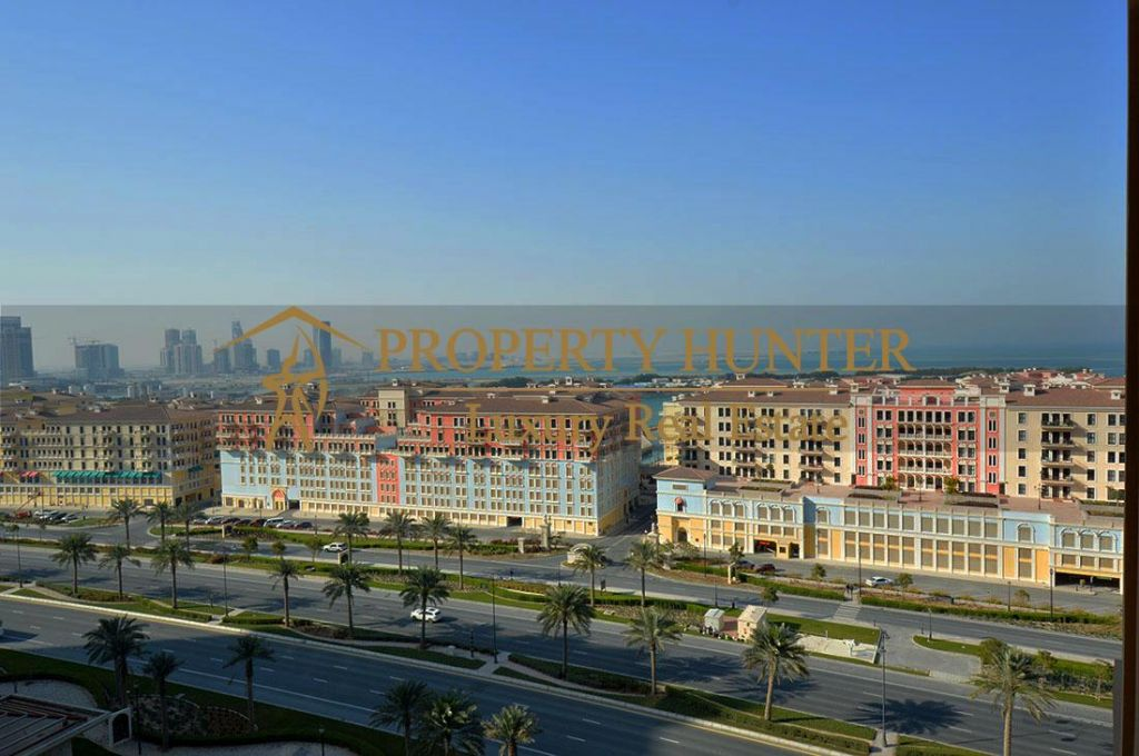 Residential Developed 1 Bedroom S/F Apartment  for sale in The-Pearl-Qatar , Doha-Qatar #6991 - 1  image
