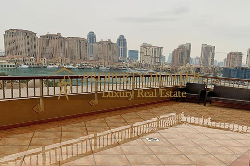 Residential Developed 1 Bedroom S/F Apartment  for sale in The-Pearl-Qatar , Doha-Qatar #6994 - 4  image