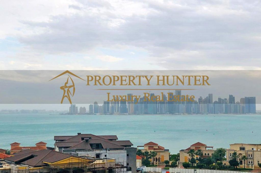 Residential Developed 1 Bedroom S/F Apartment  for sale in The-Pearl-Qatar , Doha-Qatar #6994 - 3  image