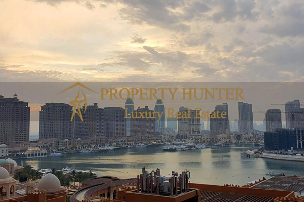 Residential Developed 1 Bedroom S/F Apartment  for sale in The-Pearl-Qatar , Doha-Qatar #6994 - 2  image